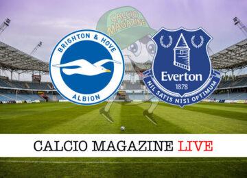 Brighton – Everton cronaca diretta live risultato in tempo reale