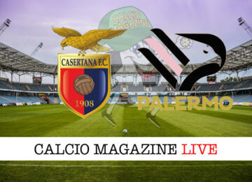 Casertana Palermo cronaca diretta live risultato in tempo reale
