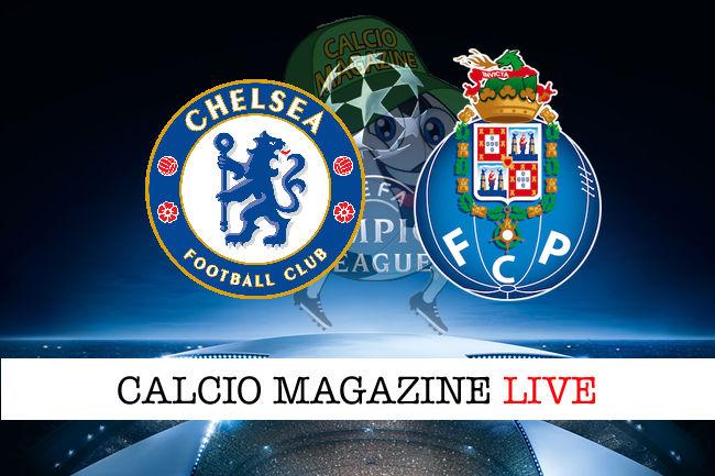 Chelsea - Porto cronaca diretta live risultato in tempo reale