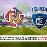 Cremonese - Empolia cronaca diretta live risultato in tempo reale