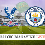 Crystal Palace - Manchester City cronaca diretta live risultato in tempo reale