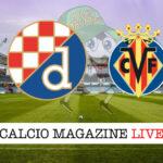 Dinamo Zagabria - Villarreal cronaca diretta live risultato in tempo reale