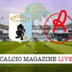 Entella Vicenza cronaca diretta live risultato in tempo reale