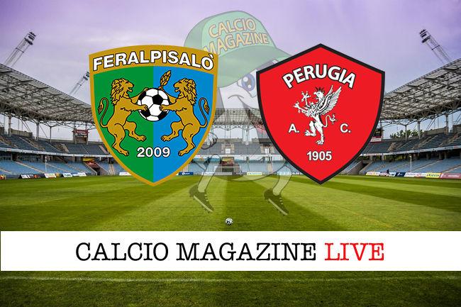 FeralpiSalò - Perugia cronaca diretta live risultato in tempo reale