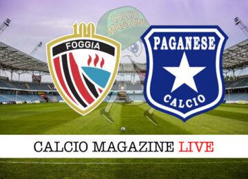 Foggia - Paganese cronaca diretta live risultato in tempo reale