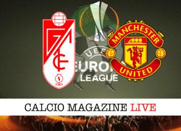 Granada - Manchester United cronaca diretta live risultato in tempo reale