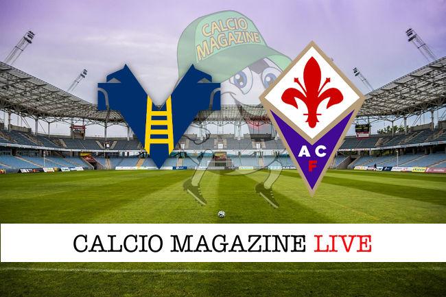 Hellas Verona - Fiorentina cronaca diretta live risultato in tempo reale