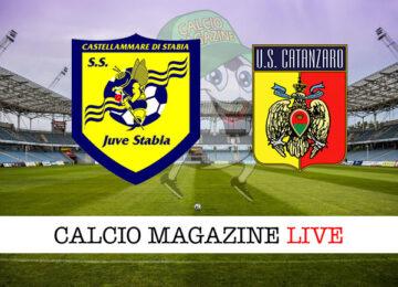 Juve Stabia - Catanzaro cronaca diretta live risultato in tempo reale