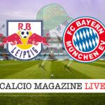 Rb Lipsia - Bayern Monaco cronaca diretta live risultato in tempo reale
