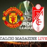 Manchester United - Granada cronaca diretta live risultato in tempo reale