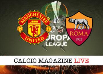 Manchester United - Roma cronaca diretta live risultato in tempo reale
