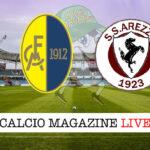 Modena - Arezzo cronaca diretta live risultato in tempo reale