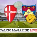 Padova Gubbio cronaca diretta live risultato in tempo reale