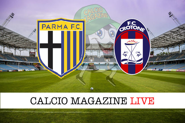 Parma Crotone cronaca diretta live risultato in tempo reale