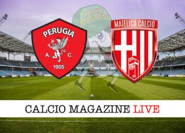 Perugia Matelica cronaca diretta live risultato in tempo reale