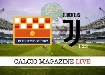 Pistoiese - Juventus u23 cronaca diretta live risultato in tempo reale