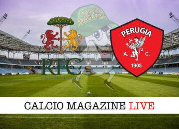 Ravenna Perugia cronaca diretta live risultato in tempo reale