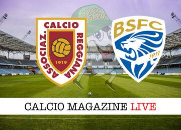Reggiana Brescia cronaca diretta live risultato in tempo reale