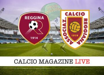 Reggina - Reggiana cronaca diretta live risultato in tempo reale