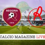 Reggina Vicenza cronaca diretta live risultato in tempo reale