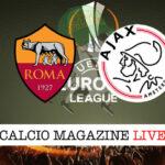 Roma Ajax cronaca diretta live risultato in tempo reale