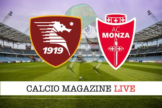 Salernitana Monza cronaca diretta live risultato in tempo reale