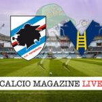 Sampdoria - Hellas Verona cronaca diretta live risultato in tempo reale