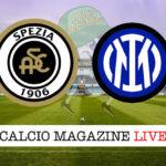 Spezia Inter cronaca diretta live risultato in tempo reale