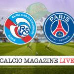 Strasburgo PSG cronaca diretta live risultato in tempo reale
