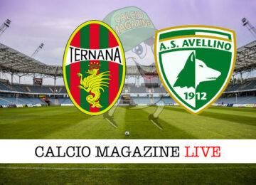 Ternana Avellino cronaca diretta live risultato in tempo reale