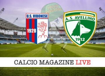 Vibonese - Avellino cronaca diretta live risultato in tempo reale