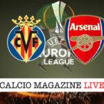 Villarreal - Arsenal cronaca diretta live risultato in tempo reale