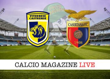 Viterbese - Casertana cronaca diretta live risultato in tempo reale