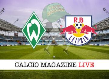 Werder Brema – RB Lipsia cronaca diretta live risultato in tempo reale