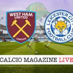 West Ham - Leicester cronaca diretta live risultato in tempo reale