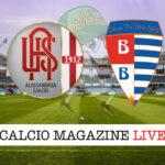 Alessandria - Pro Patria cronaca diretta live risultato in tempo reale