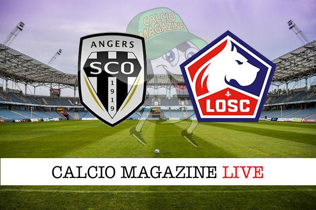 Angers - Lille cronaca diretta live risultato in tempo reale
