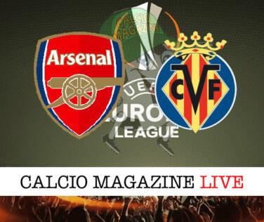 Arsenal - Villarreal cronaca diretta live risultato in tempo reale