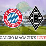 Bayern Monaco - Borussia M'Gladbach cronaca diretta live risultato in tempo reale