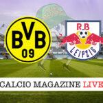 Borussia Dortmund - Lipsia cronaca diretta live risultato in tempo reale