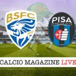 Brescia Pisa cronaca diretta live risultato in tempo reale
