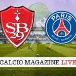 Brest PSG cronaca diretta live risultato in tempo reale