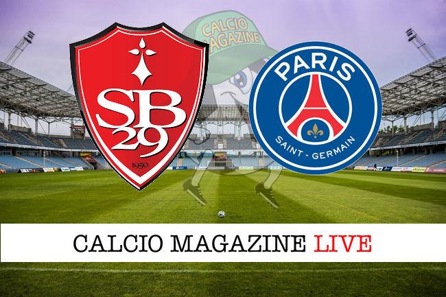 Brest - PSG 0-2: diretta live, risultato finale