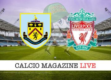 Burnley - Liverpool cronaca diretta live risultato in tempo reale
