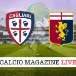 Cagliari Genoa cronaca diretta live risultato in tempo reale