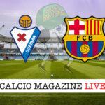 Eibar Barcellona cronaca diretta live risultato in tempo reale