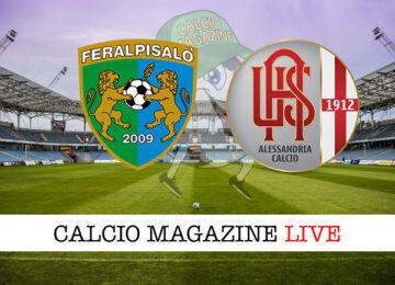 FeralpiSalò - Alessandria cronaca diretta live risultato in tempo reale