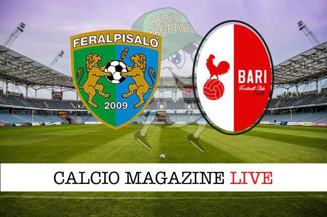 FeralpiSalò - Bari cronaca diretta live risultato in tempo reale