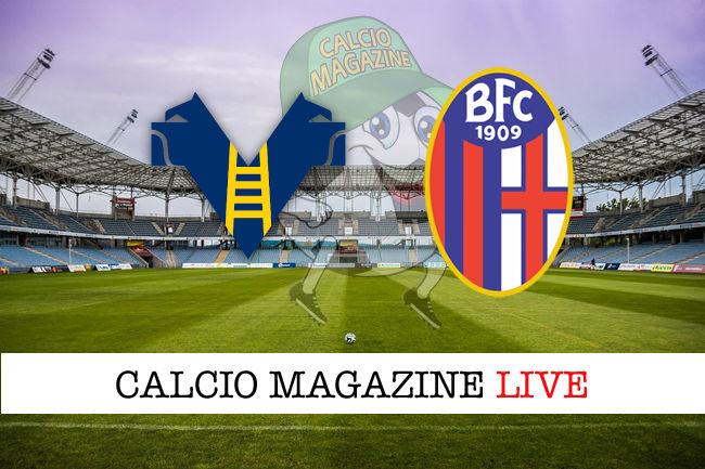 Hellas Verona - Bologna cronaca diretta live risultato in tempo reale