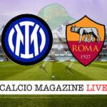Inter Roma cronaca diretta live risultato in tempo reale